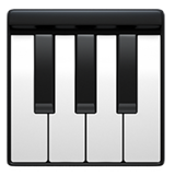 Musical Keyboard on Apple iOS 10.2