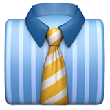 Necktie on Apple iOS 10.2
