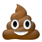 Pile of Poo on Apple iOS 10.2