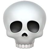 Skull on Apple iOS 10.2