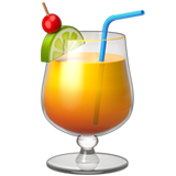 Tropical Drink on Apple iOS 10.2