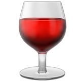 Wine Glass on Apple iOS 10.2