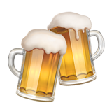 Clinking Beer Mugs on Apple iOS 10.3