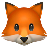 Fox Face on Apple iOS 10.3