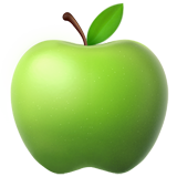 Green Apple on Apple iOS 10.3