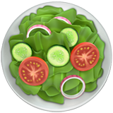 Green Salad on Apple iOS 10.3