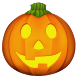 Jack-O-Lantern on Apple iOS 10.3