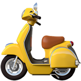 Motor Scooter on Apple iOS 10.3