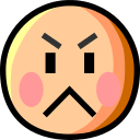 Angry Face on au by KDDI Type D-3