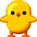 Front-Facing Baby Chick on au by KDDI Type D-3