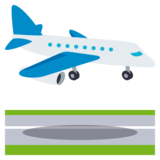 Airplane Arrival on JoyPixels 3.1