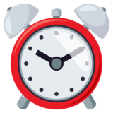 Alarm Clock on JoyPixels 3.1