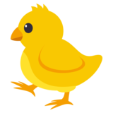 Baby Chick on JoyPixels 3.1