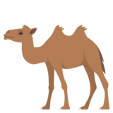 Two-Hump Camel on EmojiOne 3.1