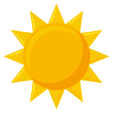 Sun on EmojiOne 3.1