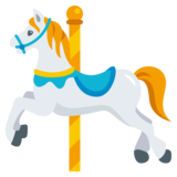 Carousel Horse on JoyPixels 3.1