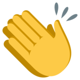 Clapping Hands on EmojiOne 3.1
