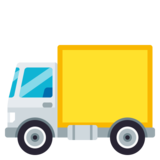 Delivery Truck on JoyPixels 3.1