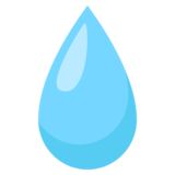 Droplet on JoyPixels 3.1