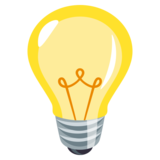 Light Bulb on EmojiOne 3.1