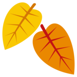 Fallen Leaf on JoyPixels 3.1