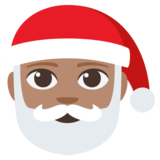 Santa Claus: Medium Skin Tone on JoyPixels 3.1
