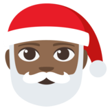Santa Claus: Medium-Dark Skin Tone on JoyPixels 3.1