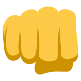 Oncoming Fist on EmojiOne 3.1