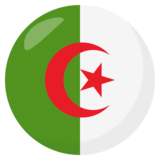 Flag: Algeria on JoyPixels 3.1