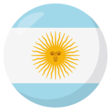 Flag: Argentina on JoyPixels 3.1