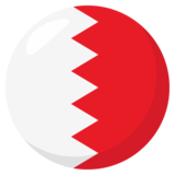 Flag: Bahrain on JoyPixels 3.1