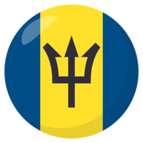 Flag: Barbados on JoyPixels 3.1