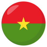 Flag: Burkina Faso on JoyPixels 3.1