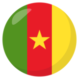 Flag: Cameroon on JoyPixels 3.1