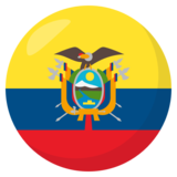 Flag: Ecuador on JoyPixels 3.1