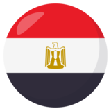 Flag: Egypt on JoyPixels 3.1