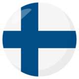 Flag: Finland on JoyPixels 3.1