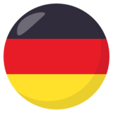 Flag: Germany on EmojiOne 3.1
