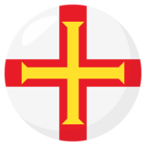 Flag: Guernsey on JoyPixels 3.1