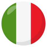 Flag: Italy on JoyPixels 3.1