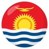 Flag: Kiribati on JoyPixels 3.1