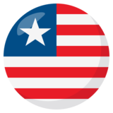 Flag: Liberia on JoyPixels 3.1