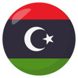 Flag: Libya on JoyPixels 3.1