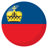 Flag: Liechtenstein on JoyPixels 3.1