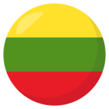 Flag: Lithuania on JoyPixels 3.1