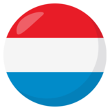 Flag: Luxembourg on JoyPixels 3.1