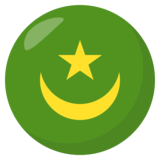 Flag: Mauritania on JoyPixels 3.1