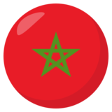 Flag: Morocco on JoyPixels 3.1