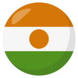 Flag: Niger on JoyPixels 3.1