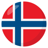 Flag: Norway on JoyPixels 3.1